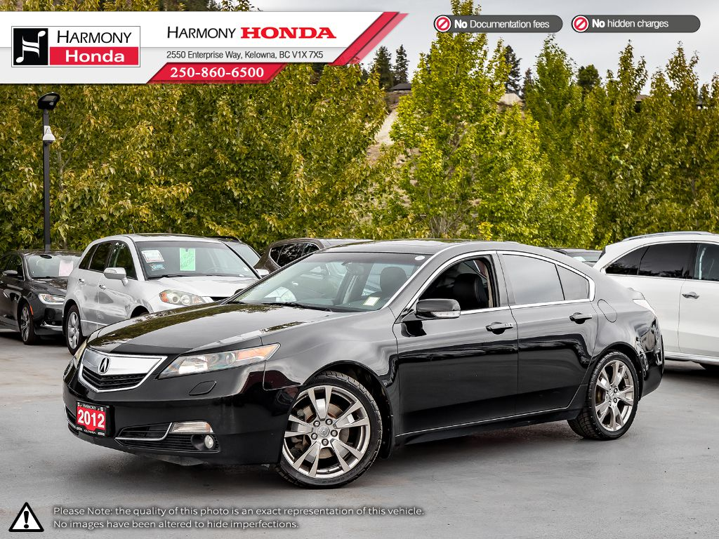 Pre-Owned 2012 Acura TL ELITE PKG - NO ACCIDENTS - SUNROOF - BACKUP CAMERA - NAVI SYSTEM - BLUETOOTH - NEW TIRES