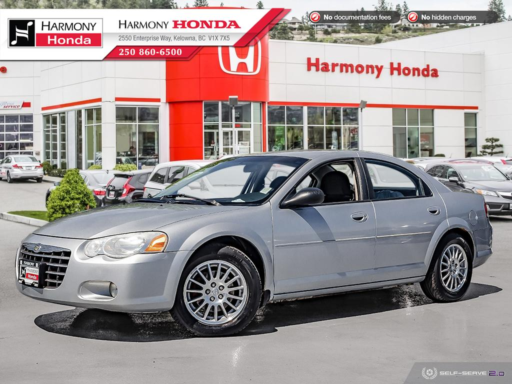 Pre-Owned 2006 Chrysler Sebring Sdn TOURING - NO ACCIDENTS / DAMAGE - LOW KM - FOG LIGHTS - 2ND SET OF TIRES - WELL SERVICED