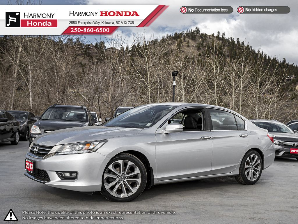 Pre-Owned 2013 Honda Accord Sedan SPORT - BC VEHICLE - ONE OWNER - BACKUP CAMERA - BLUETOOTH - NEW TIRES - NEW BRAKES - FOG LIGHTS