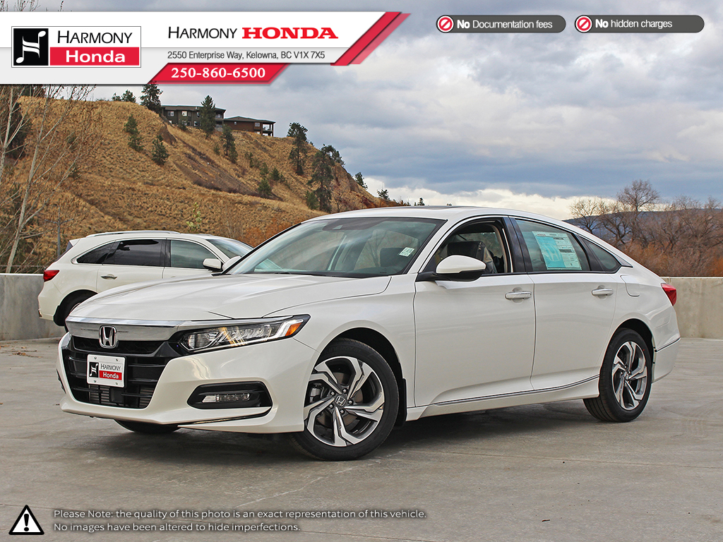 New 2018 Honda Accord Sedan Ex L 4 Door Car In Kelowna 18115