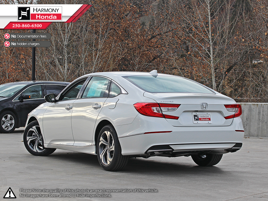 Honda Accord 2018 Coupe >> New 2018 Honda Accord Sedan EX-L 4 Door Car in Kelowna #18115 | Harmony Honda