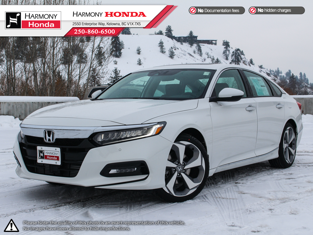 New 2018 Honda Accord Sedan Touring 4 Door Car In Kelowna 18216