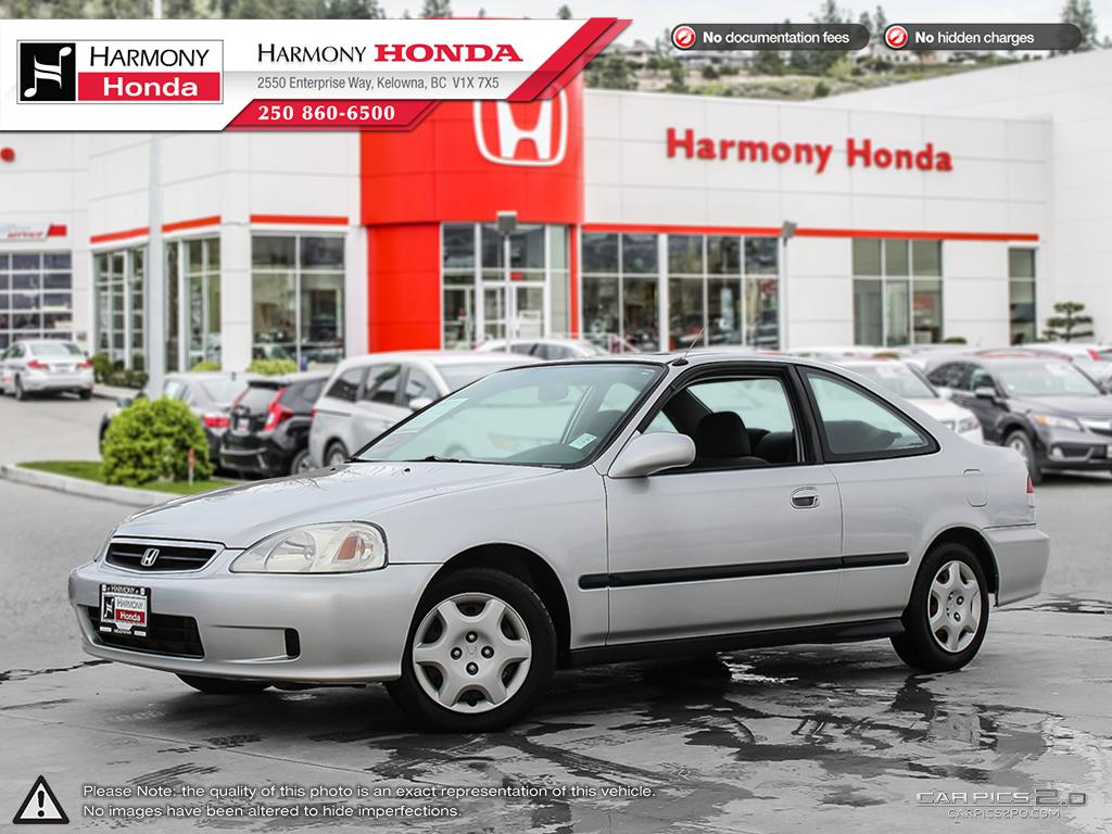Pre-Owned 2000 Honda Civic Si - BC VEHICLE - LOW KM - SUNROOF - NEW TIRES - NEW BRAKES - WELL SERVICED