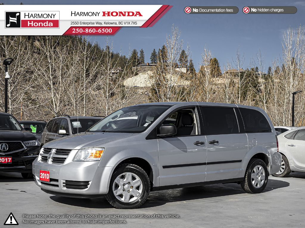 Pre-Owned 2010 Dodge Grand Caravan SE - BC VEHICLE - NO ACCIDENTS - FAMILY VEHICLE - STOW 'N Go® SEATING AND STORAGE SYSTEM