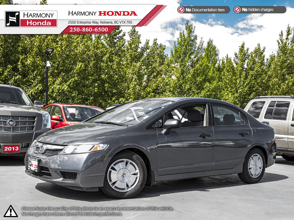 Pre-Owned 2009 Honda Civic Sedan DXG - NEW TIRES	- NEW FILTERS