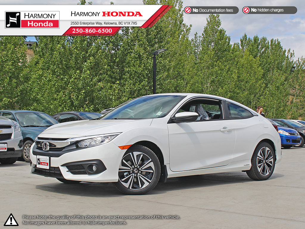 New 2018 Honda Civic Coupe Ex T 2 Door Car In Kelowna 18608