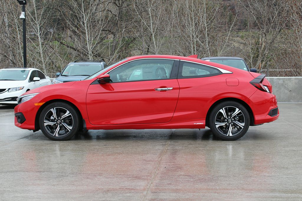New 2017 Honda Civic Coupe Touring 2 Door Car In Kelowna