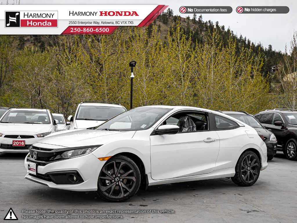 New 2020 Honda Civic Coupe SPORT MT