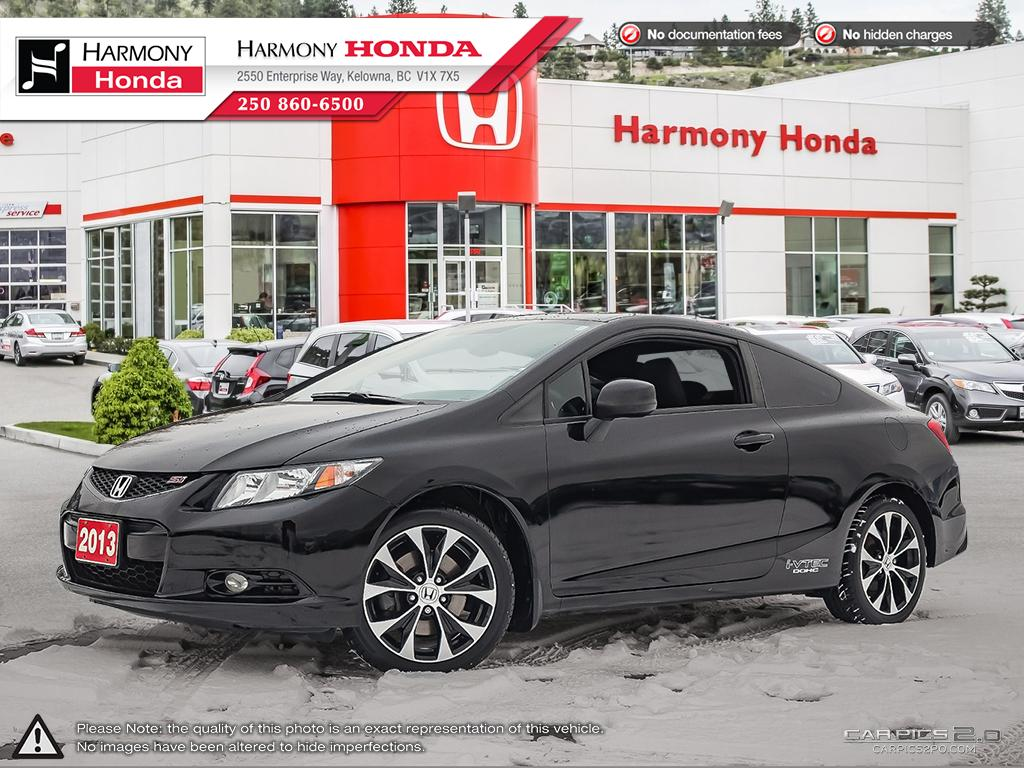 Pre-Owned 2013 Honda Civic Coupe SI - BC VEHICLE - LOW KM - NAVIGATION SYSTEM - BACKUP CAMERA - SUNROOF - NEW TIRES - NEW BRAKES