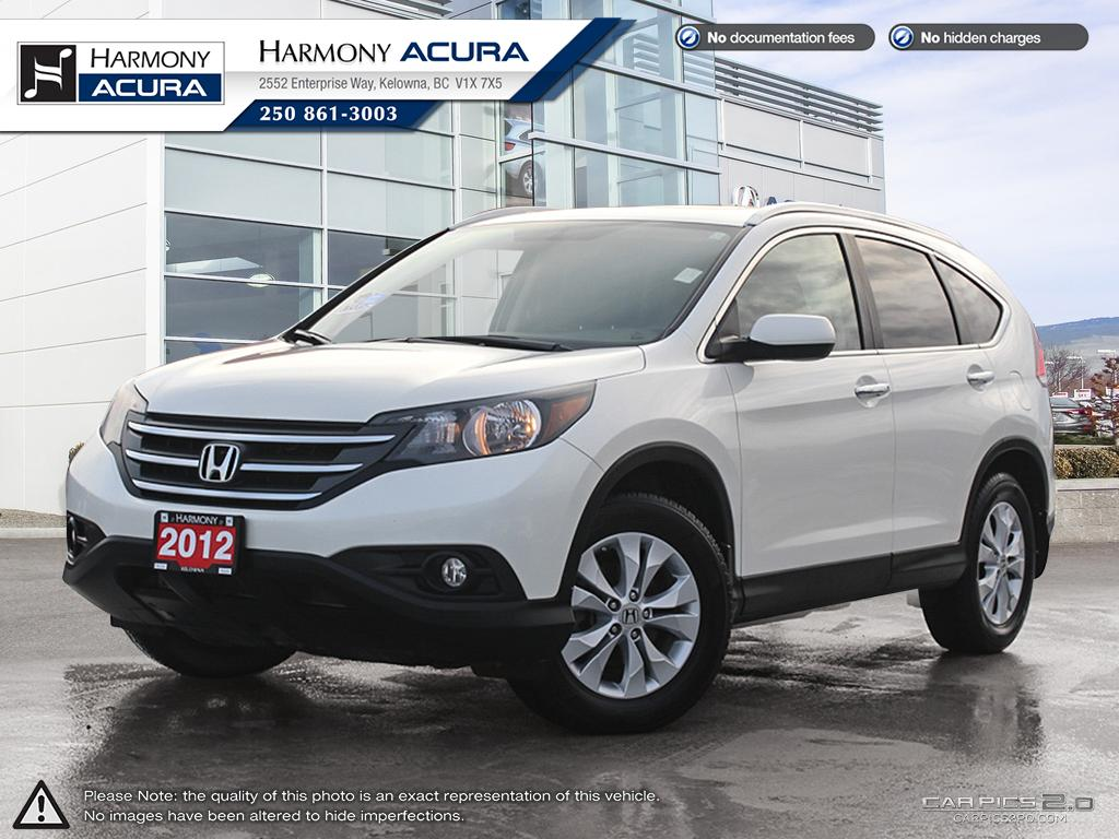 Pre-Owned 2012 Honda CR-V TOURING - LOCAL OKANAGAN VALLEY VEHICLE - EXCELLENT SERVICE HISTORY - 3M ROCKGUARD PROTECTION