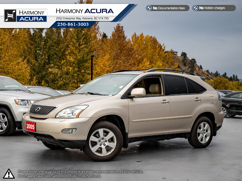 Pre-Owned 2005 Lexus RX 330 - ONE OWNER - SUNROOF - REMOTE STARTER - LEATHER INTERIOR - FOG LIGHTS