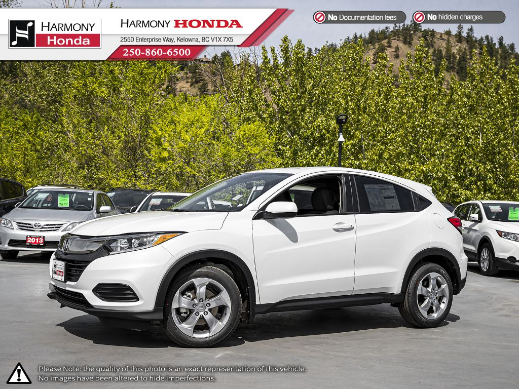 New 2020 Honda HR-V LX-2WD