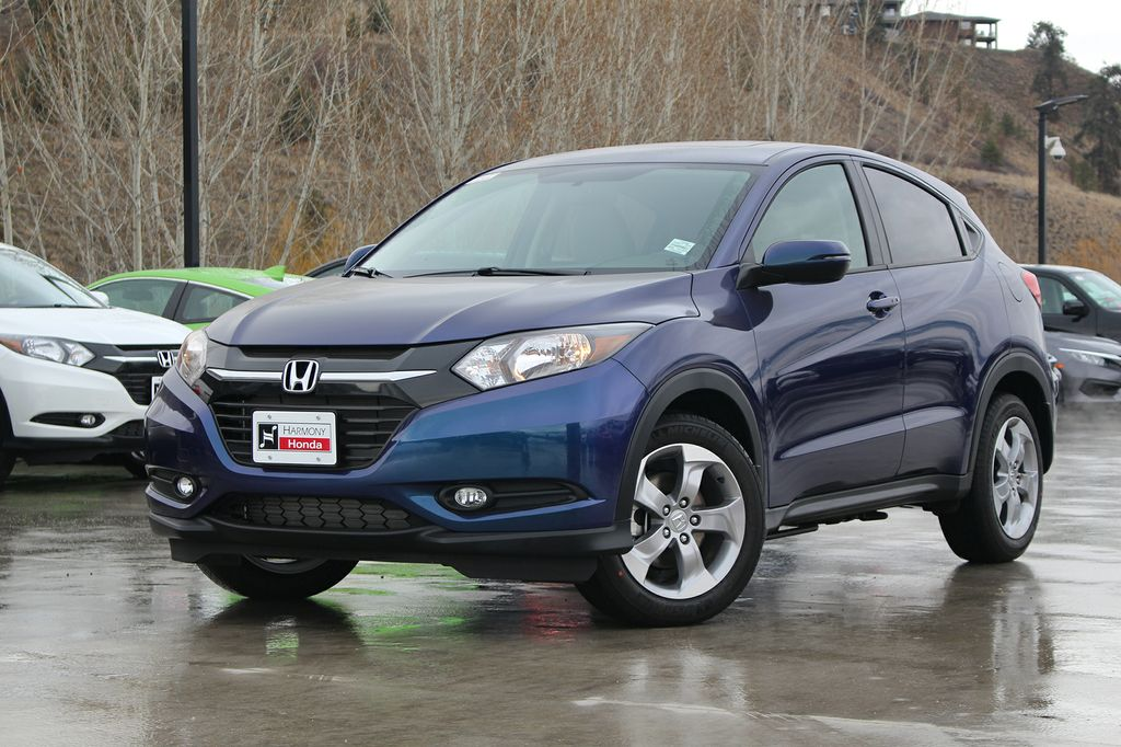 new 2017 honda hr v ex 4 door sport utility in kelowna 17088 harmony honda. Black Bedroom Furniture Sets. Home Design Ideas