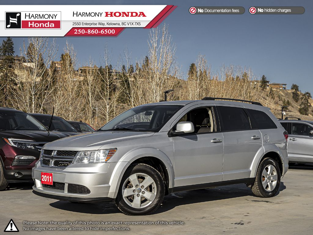 Pre-Owned 2011 Dodge Journey EXPRESS - BC VEHICLE - NO ACCIDENTS / DAMAGE - NON SMOKER - LOW KM - GREAT FAMILY VEHICLE