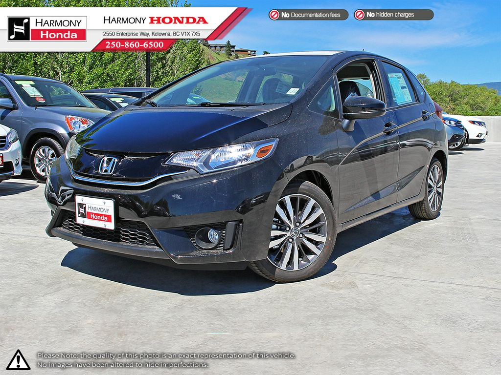 New 2017 Honda Fit EX 4 Door Car in Kelowna