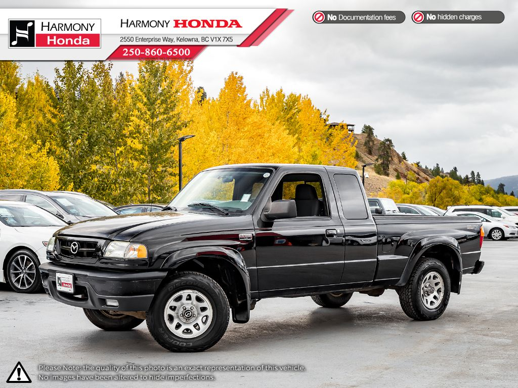Pre-Owned 2006 Mazda B-Series Pickup SPORT - BC VEHICLE - TOWING HITCH - GREAT WORK TRUCK