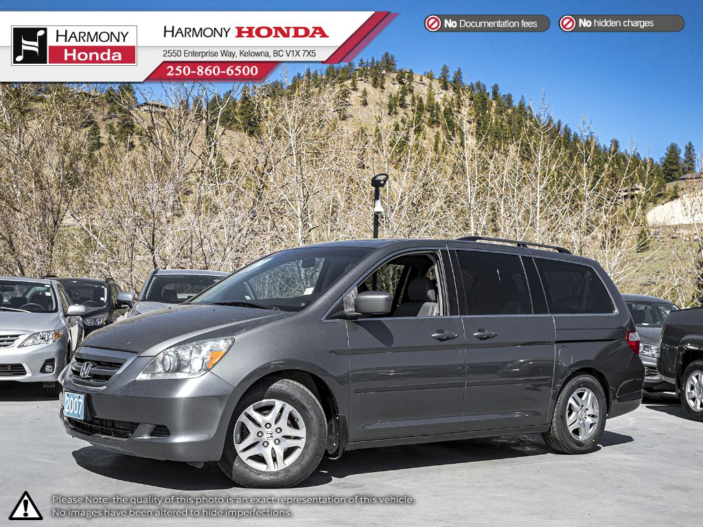 Pre-Owned 2007 Honda Odyssey EX-L - NON SMOKER - SUNROOF - NEW TIRES - LEATHER INTERIOR - NEW TIMING BELT
