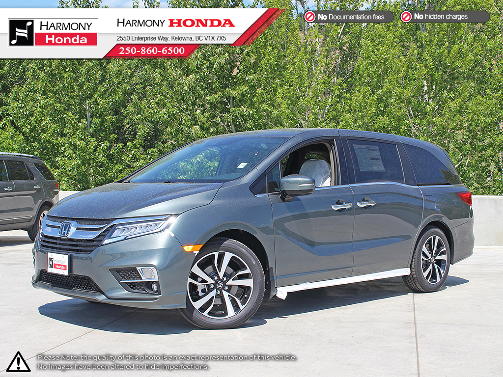 Captivating New 2019 Honda Odyssey TOURING