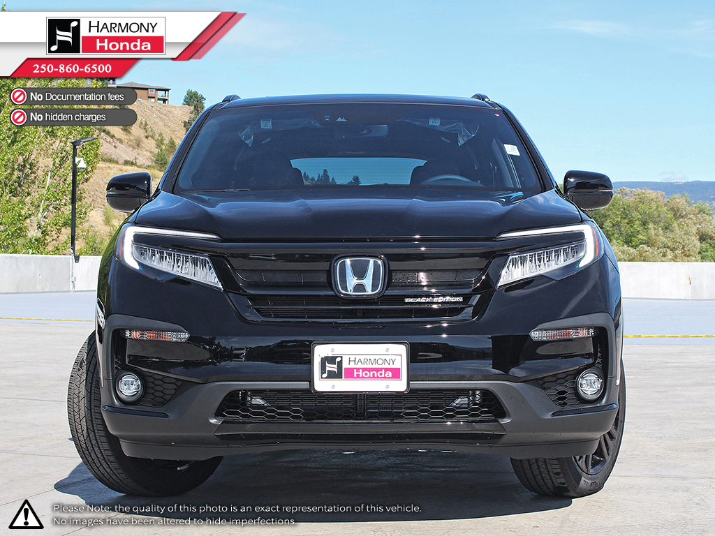 New 2019 Honda Pilot Black Edition 4 Door Sport Utility In Kelowna 1999 Crv Parts Route 22