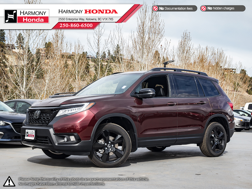 New 2019 Honda Passport Touring With Navigation