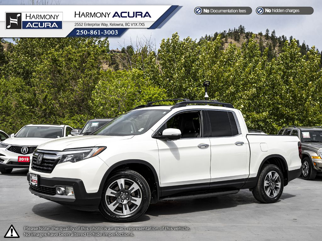 Pre-Owned 2017 Honda Ridgeline Touring - BC VEHICLE - NO ACCIDENTS - SUNROOF - BACKUP CAM - NAVI SYSTEM - BLUETOOTH