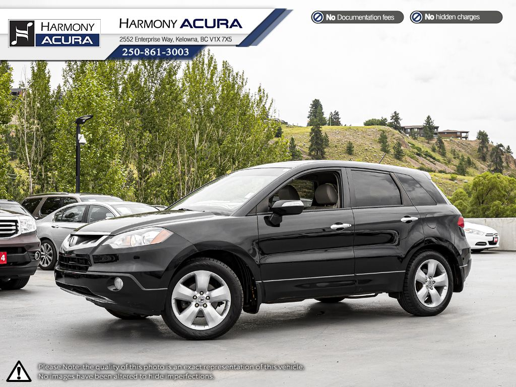 Pre-Owned 2008 Acura RDX - LOW KM - SUNROOF - NEW REAR BRAKES - LEATHER INTERIOR - FOG LIGHTS - WELL SERVICED