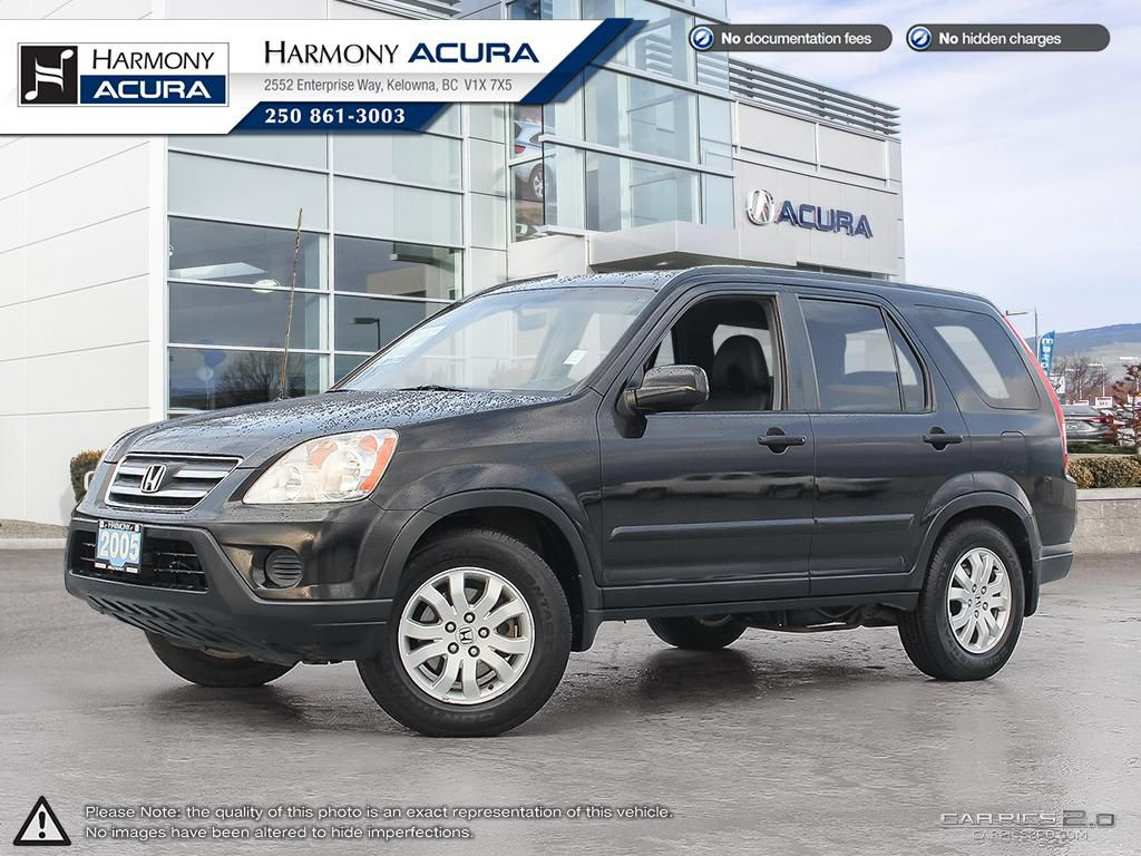 Pre-Owned 2005 Honda CR-V EX-L - NO ACCIDENTS / DAMAGE - NON SMOKER - SUNROOF - WELL SERVICED