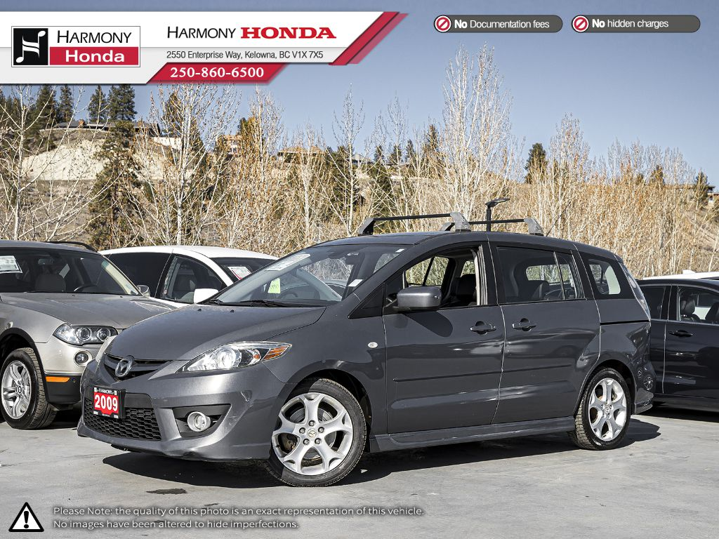 Pre-Owned 2009 Mazda5 GT - BC VEHICLE - ONE OWNER - NO ACCIDENTS - NON SMOKER - LOW KM - BLUETOOTH - NEW FRONT TIRES