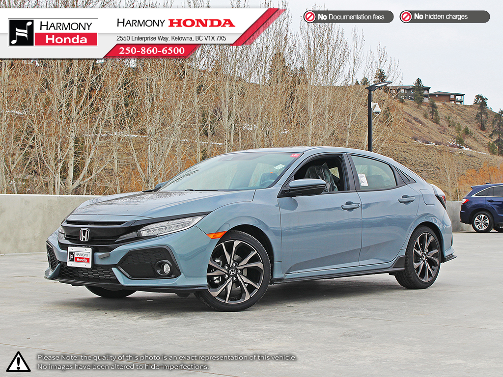 New 2018 Honda Civic Hatchback SPORT TOURING : honda door - pezcame.com