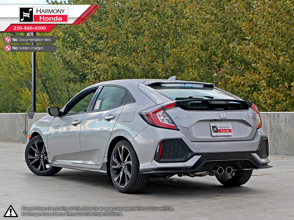 Honda Civic Hatchback With Honda Sensing New Honda