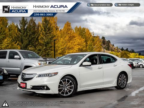 Pre-Owned 2015 Acura TLX ELITE V6 - SUNROOF - BACKUP CAMERA - NAVIGATION SYSTEM - BLUETOOTH - LEATHER INTERIOR - FOG LIGHTS