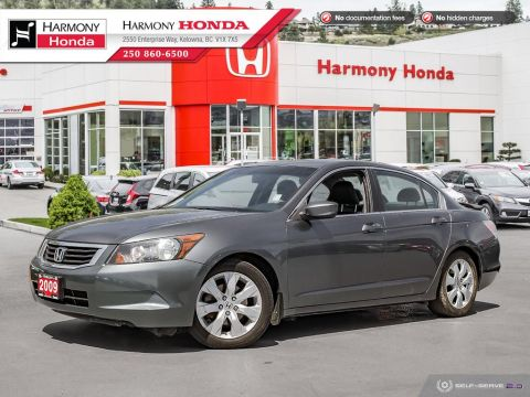 Pre-Owned 2009 Honda Accord Sedan EX-L - NON SMOKER - SUNROOF - NEW REAR BRAKES - LEATHER INTERIOR