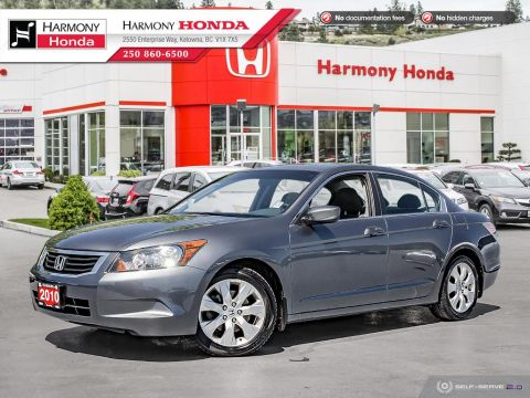 Pre-Owned 2010 Honda Accord Sedan EX - ONE OWNER - NON SMOKER - SUNROOF - RELIABLE