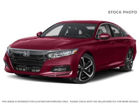 New 2019 Honda Accord Sedan SPORT 2.0
