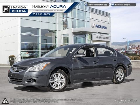 Pre-Owned 2012 Nissan Altima 2.5 S - LOW KMS - BC VEHICLE - NON-SMOKER DRIVEN - PET FREE - FUEL EFFICIENT - HEATED SEATS
