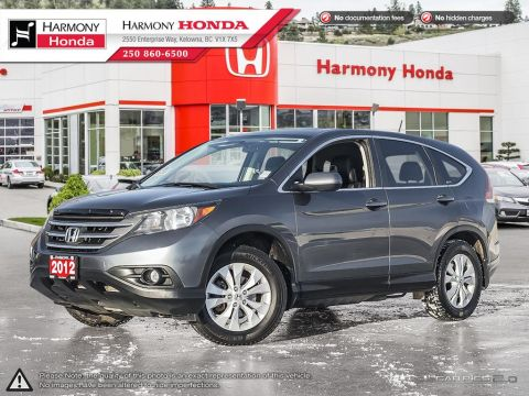Pre-Owned 2012 Honda CR-V EX-L - FULLY SERVICED - NEW REAR BRAKES - BC VEHICLE - HEATED SEATS - BACKUP CAMERA - SUNROOF