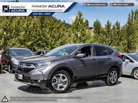 Pre-Owned 2018 Honda CR-V EX-L - BC VEHICLE - NO ACCIDENTS - ONE OWNER - LOW KM - SUNROOF - BACKUP CAM - FACTORY WARRANTY