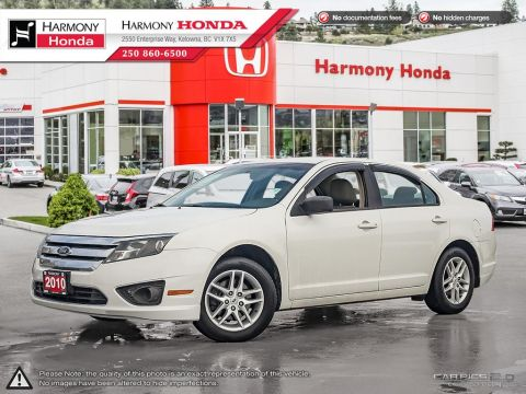 Pre-Owned 2010 Ford Fusion S - BC VEHICLE - NO ACCIDENTS / DAMAGE - NON SMOKER - LOW KM - NAVIGATION SYSTEM - BACKUP CAMERA