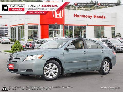 Pre-Owned 2009 Toyota Camry LE - ONE OWNER - NON SMOKER - LOW KM - SUNROOF - NEW TIRES - 3M ROCK GUARD PROTECTION