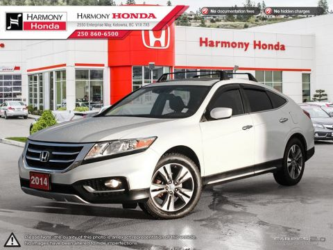 Pre-Owned 2014 Honda Crosstour EX-L - FULLY LOADED - LANE WATCH CAMERA - CROSSBARS INCLUDED - TRAILER HITCH - NAVIGATION SYSTEM