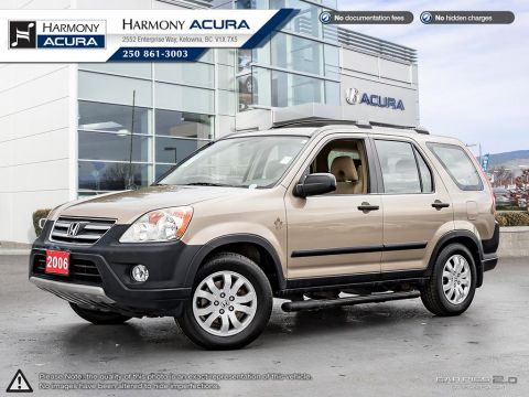 Pre-Owned 2006 Honda CR-V EX - LOCAL KELOWNA VEHICLE - RUNNING BOARDS - ROOF RAILS AND CROSS BARS - WINTERS ON RIMS